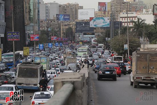 شلل مرروى بشوارع القاهرة والجيزة (16)