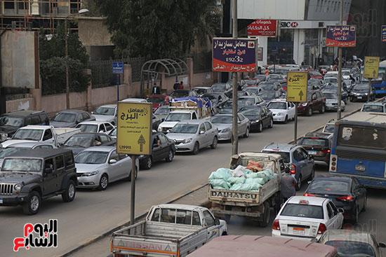 شلل مرروى بشوارع القاهرة والجيزة (18)