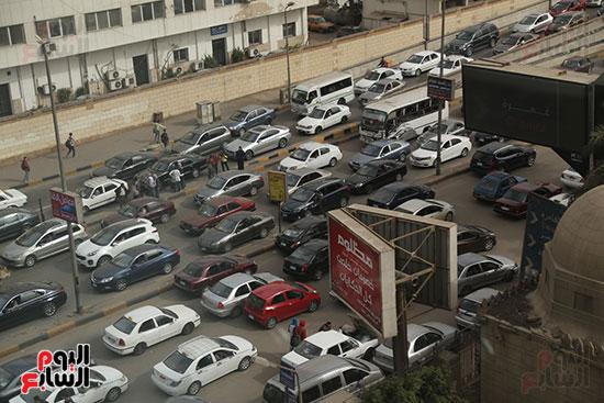 شلل مرروى بشوارع القاهرة والجيزة (1)