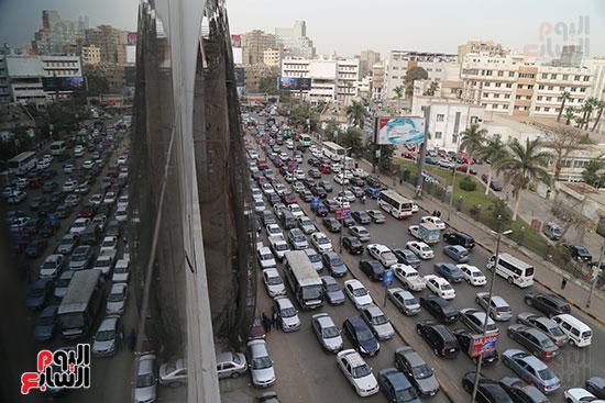 شلل مرروى بشوارع القاهرة والجيزة (5)