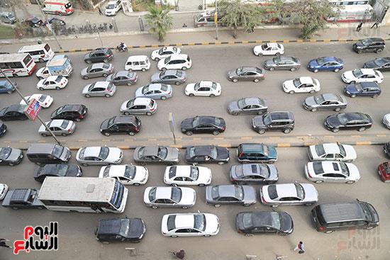 شلل مرروى بشوارع القاهرة والجيزة (4)