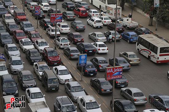 شلل مرروى بشوارع القاهرة والجيزة (6)