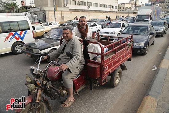 شلل مرروى بشوارع القاهرة والجيزة (9)