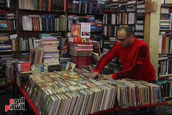 صباح الكتب فى معرض الكتاب