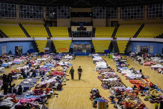 مخيمات-أنشأتها-تايوان-بعد-الزلزال