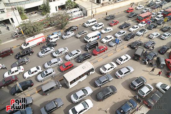 شلل مرروى بشوارع القاهرة والجيزة (7)