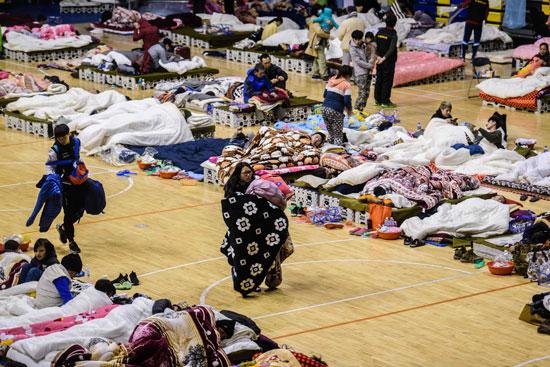 مخيمات-بعد-الزلزال