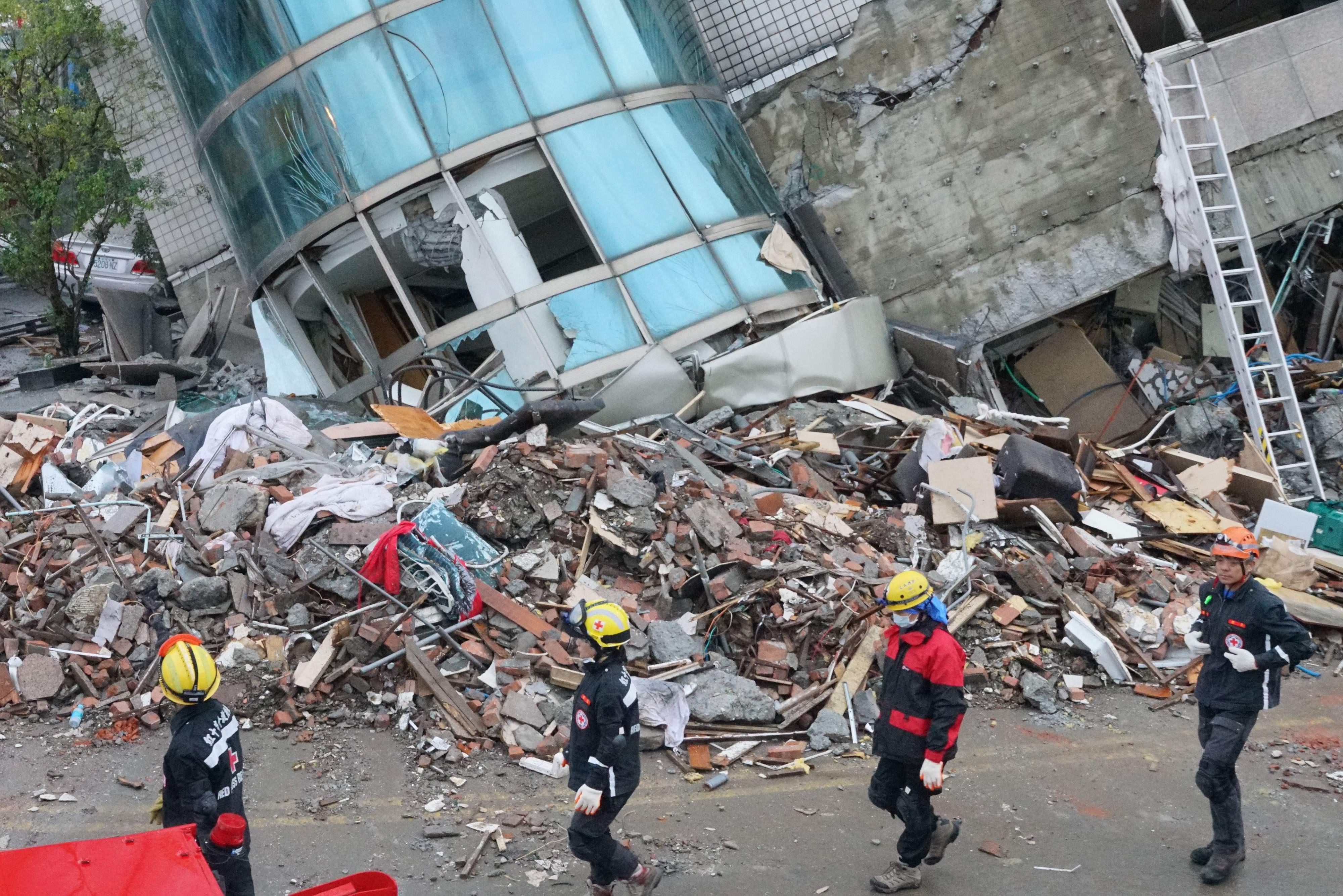 أثار زلزال تايوان