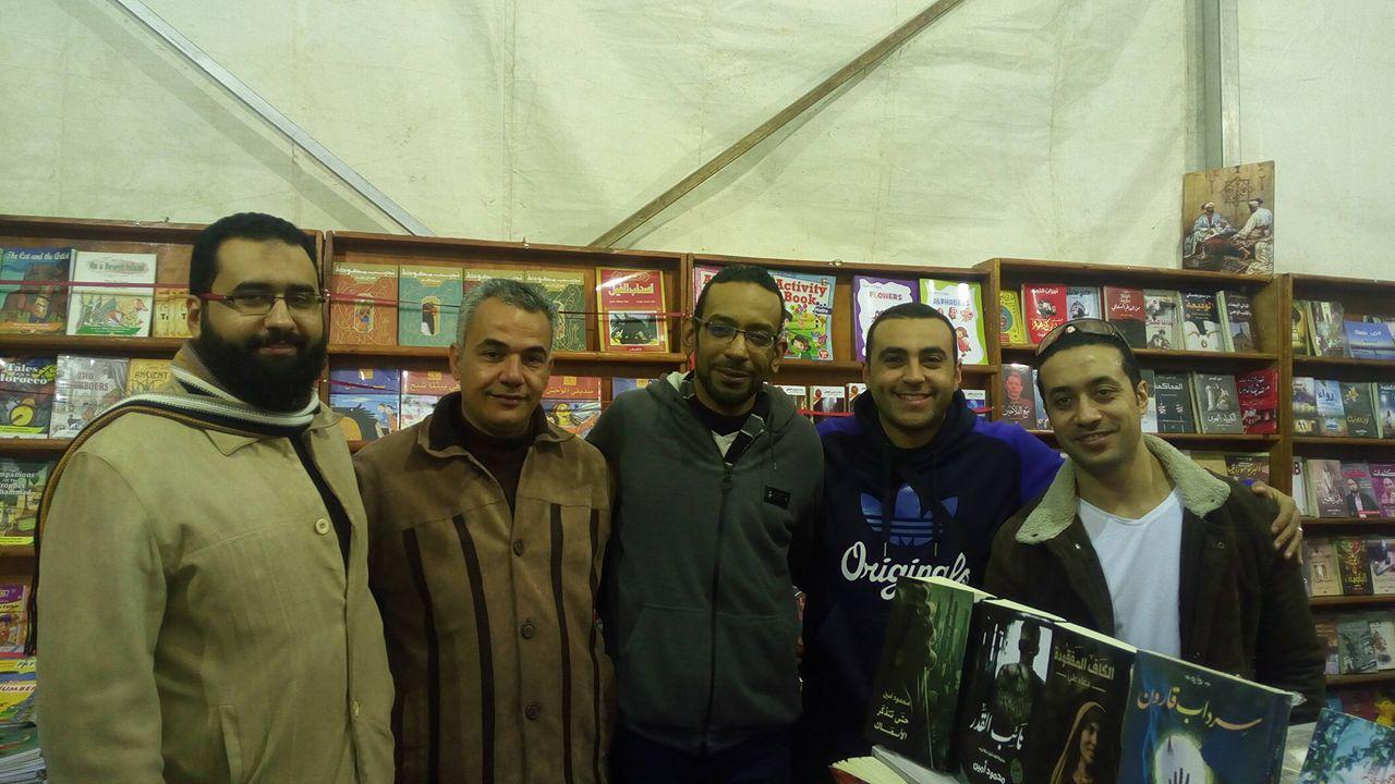 مع المهندس إسلام عطية وعبد الله شلبى والكاتب  محمود أمين1