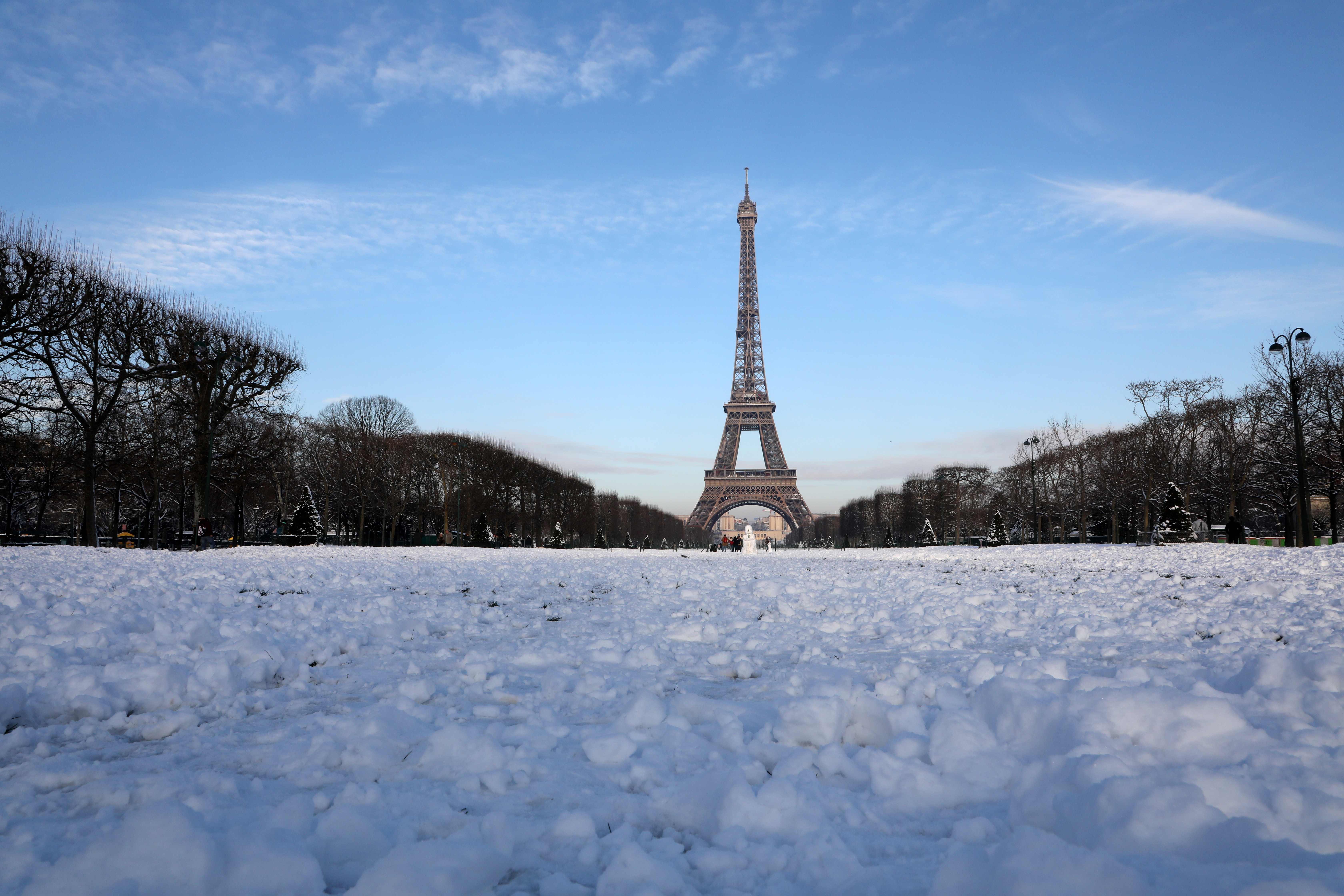 إنجلاء العاصفة الثلجية