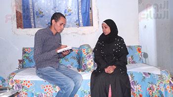 أصغر مأذونة فى مصر مع صحفى اليوم السابع