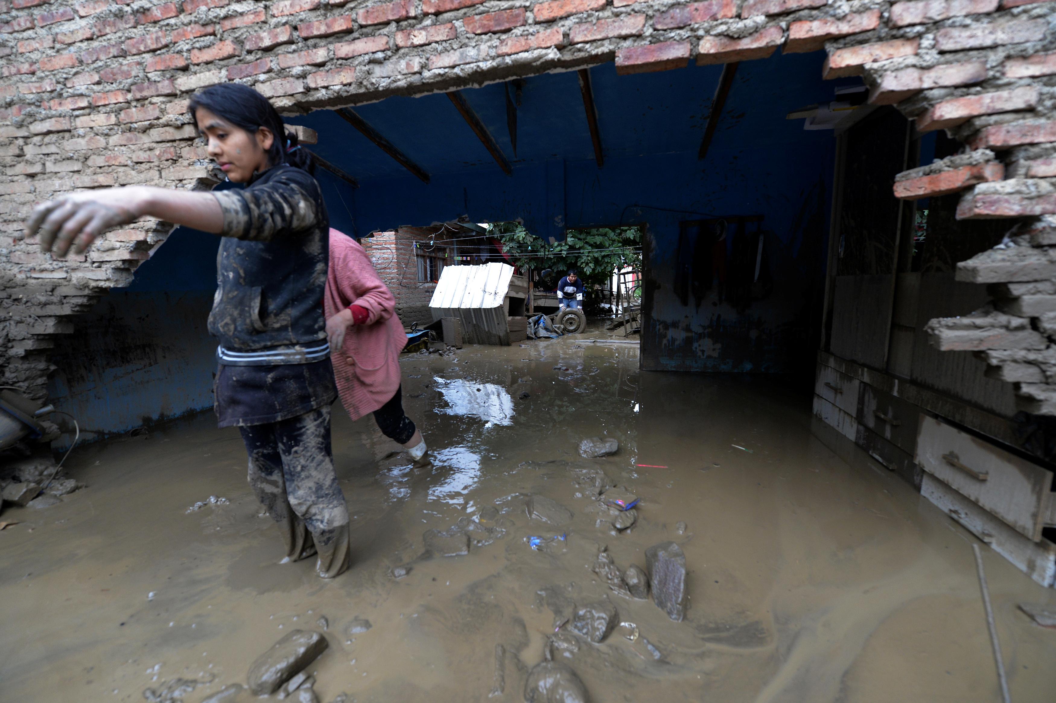 مياه الفيضانات فى بوليفيا