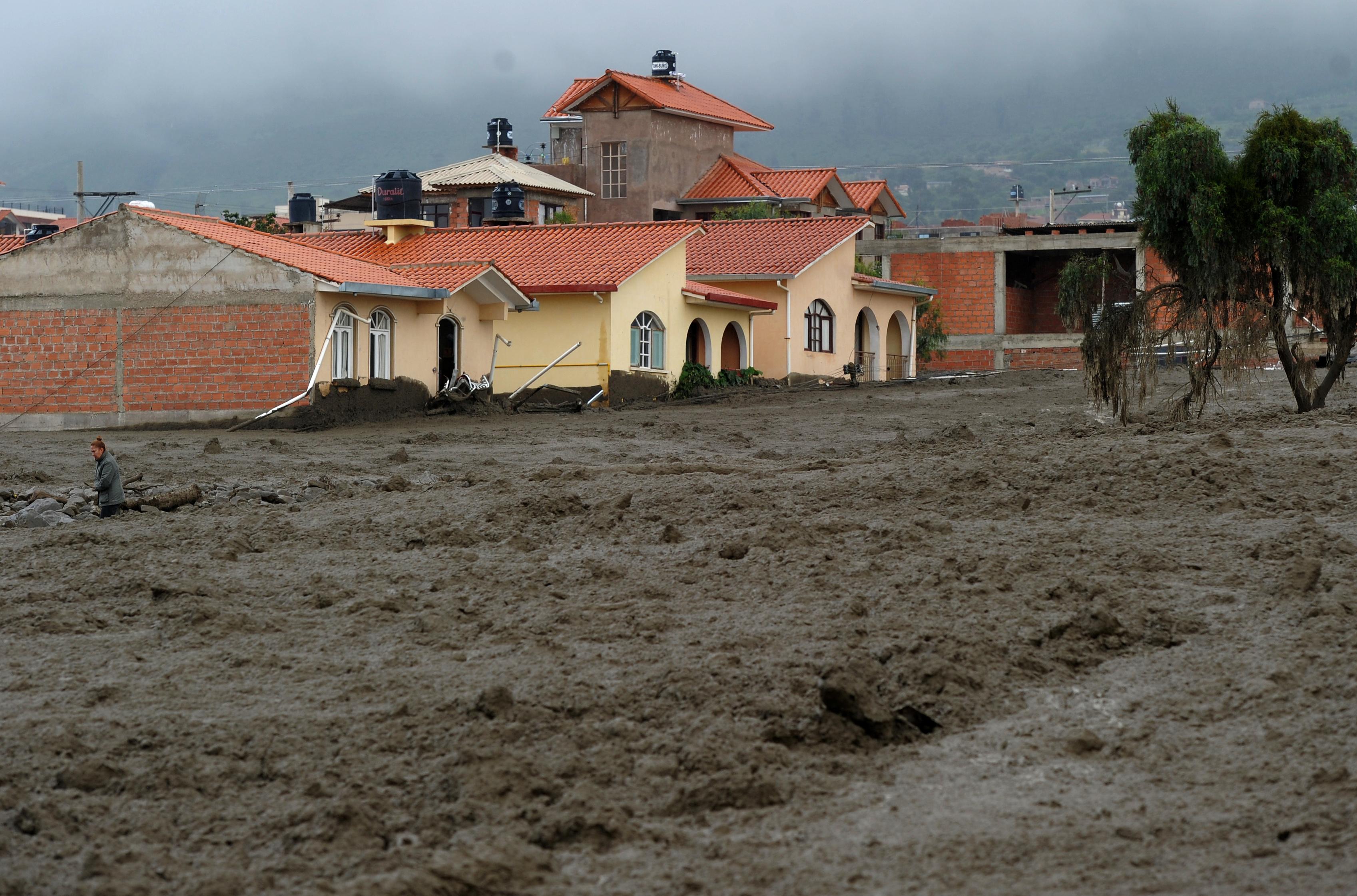 السيول فى بوليفيا