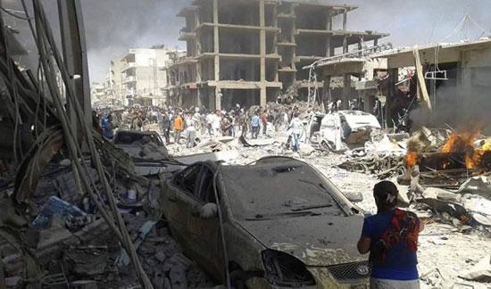 تفجيرات-داعش-فى-سوريا
