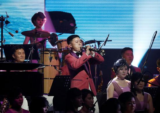انطلاق مراسم افتتاح أولمبياد بيونج تشانج فى كوريا الجنوبية