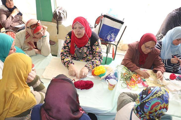 طلاب مدارس عابدين فى ضيافة مخيم طفل قصور الثقافة بمعرض الكتاب   (4)