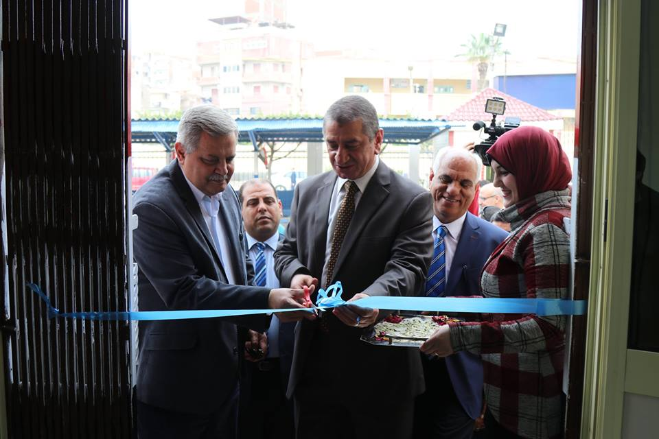 محافظ كفر الشيخ وسلان يفتتحان الخط الساخن ومركز التدريب لشركة مياه الشرب