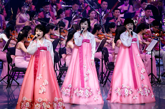 افتتاح أولمبياد كوريا الجنوبية