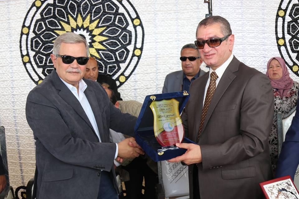 رسلان يكرم محافظ كفر الشيخ