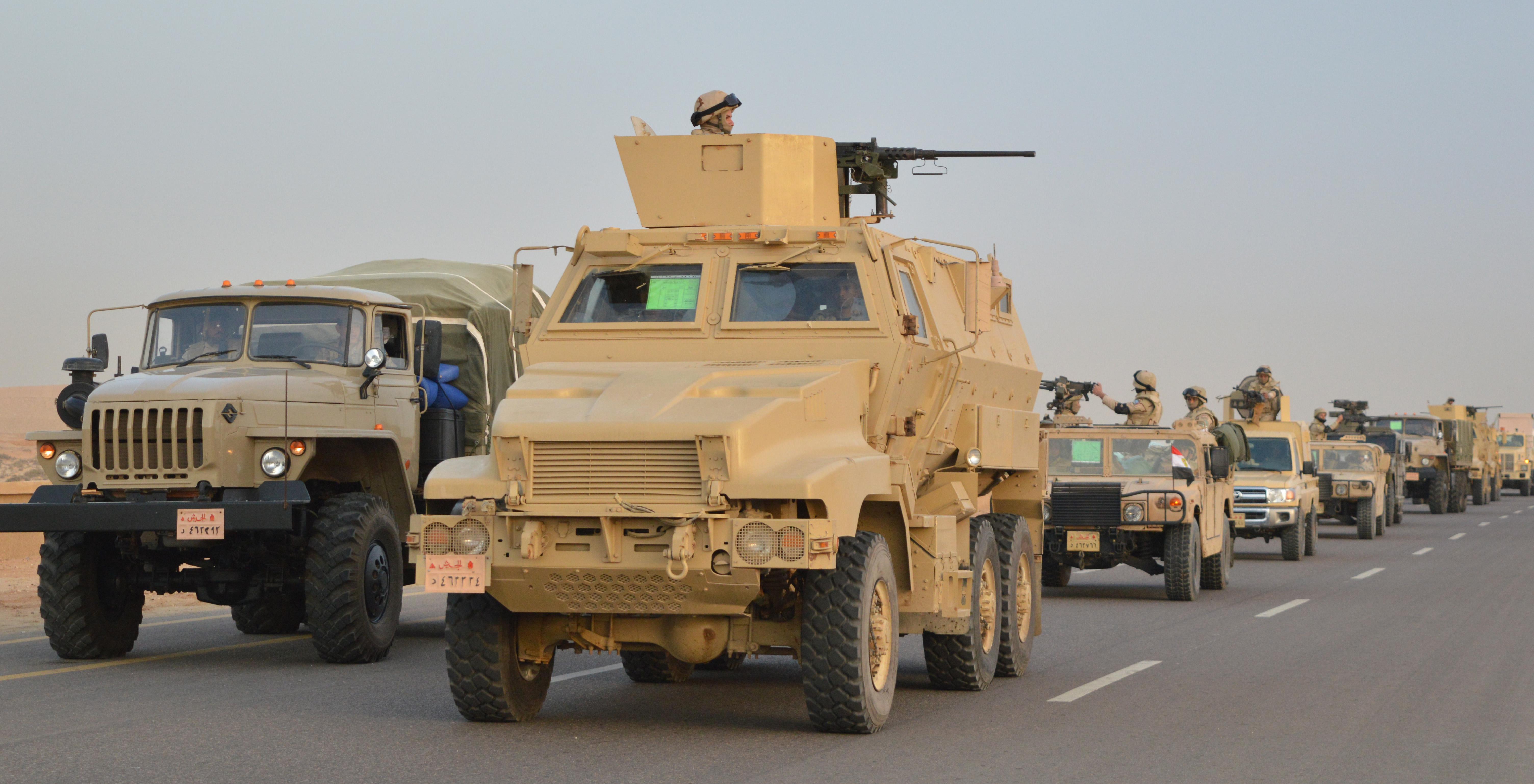الأسلحة المشاركة فى العملية الشاملة سيناء 2018 (1)