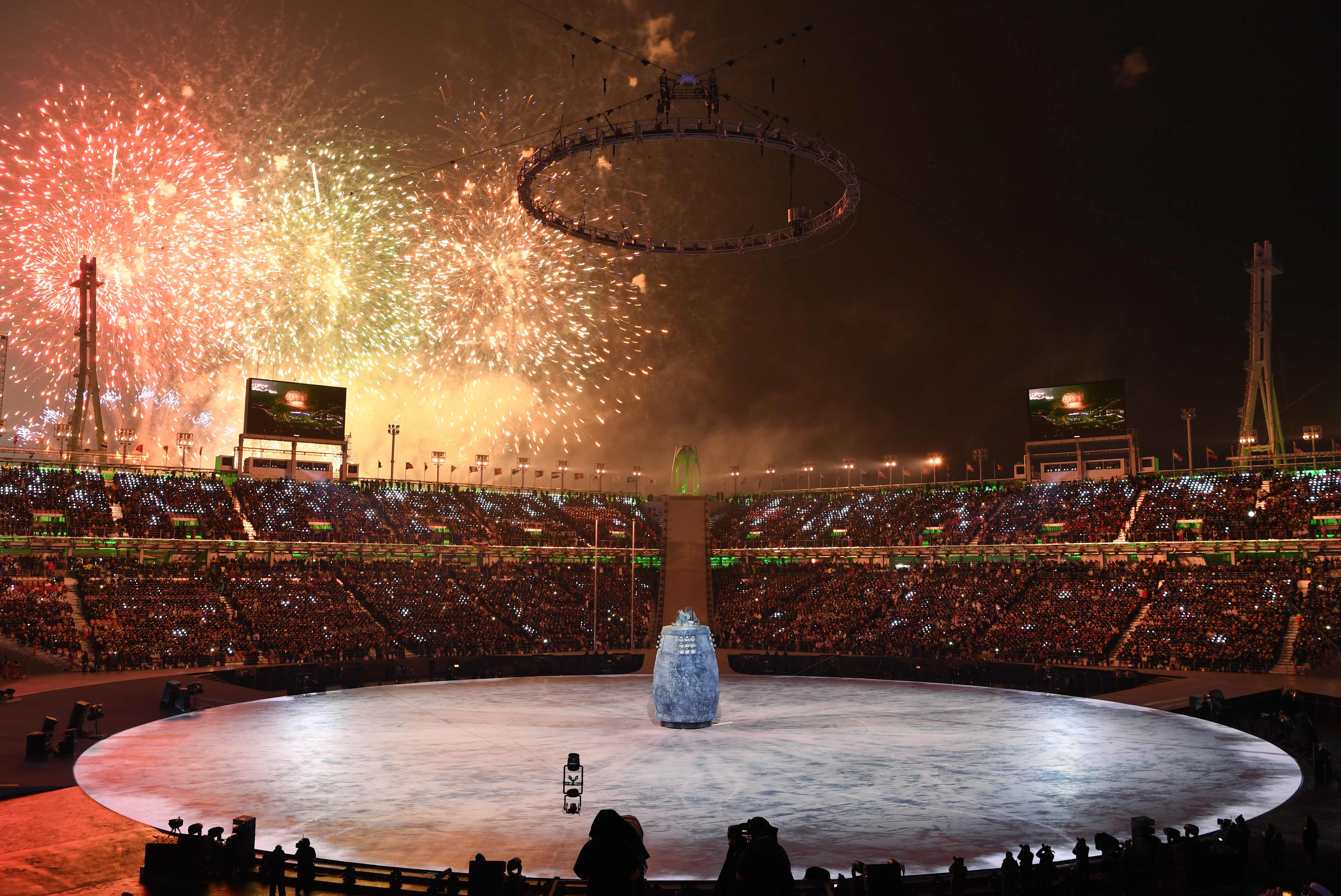 افتتاح ألمبياد كوريا الجنوبية