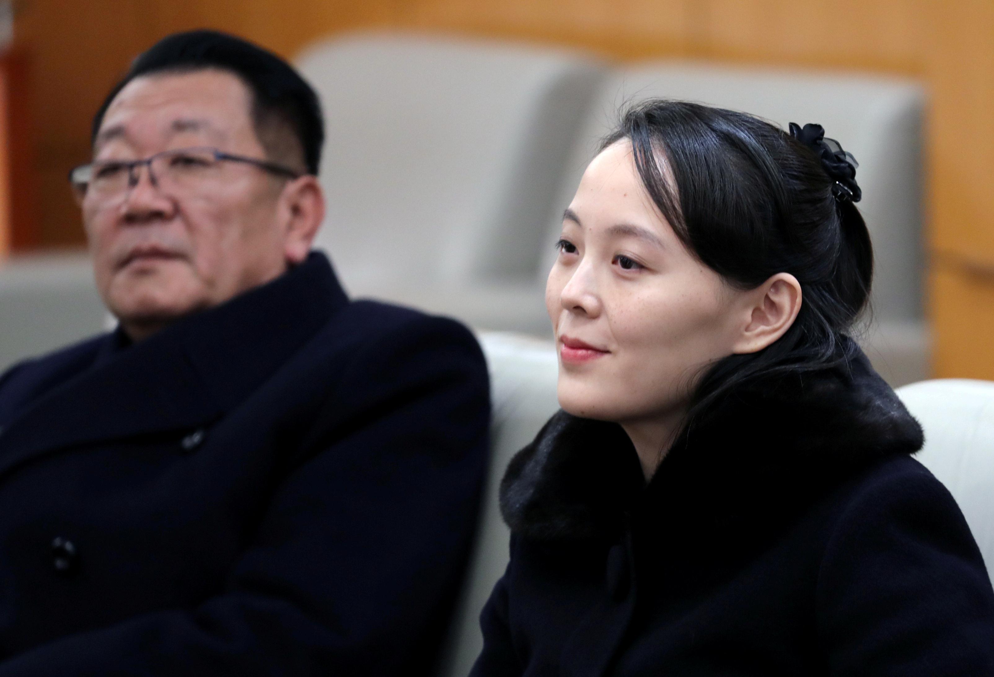 وصول شقيقة زعيم كوريا الشمالية