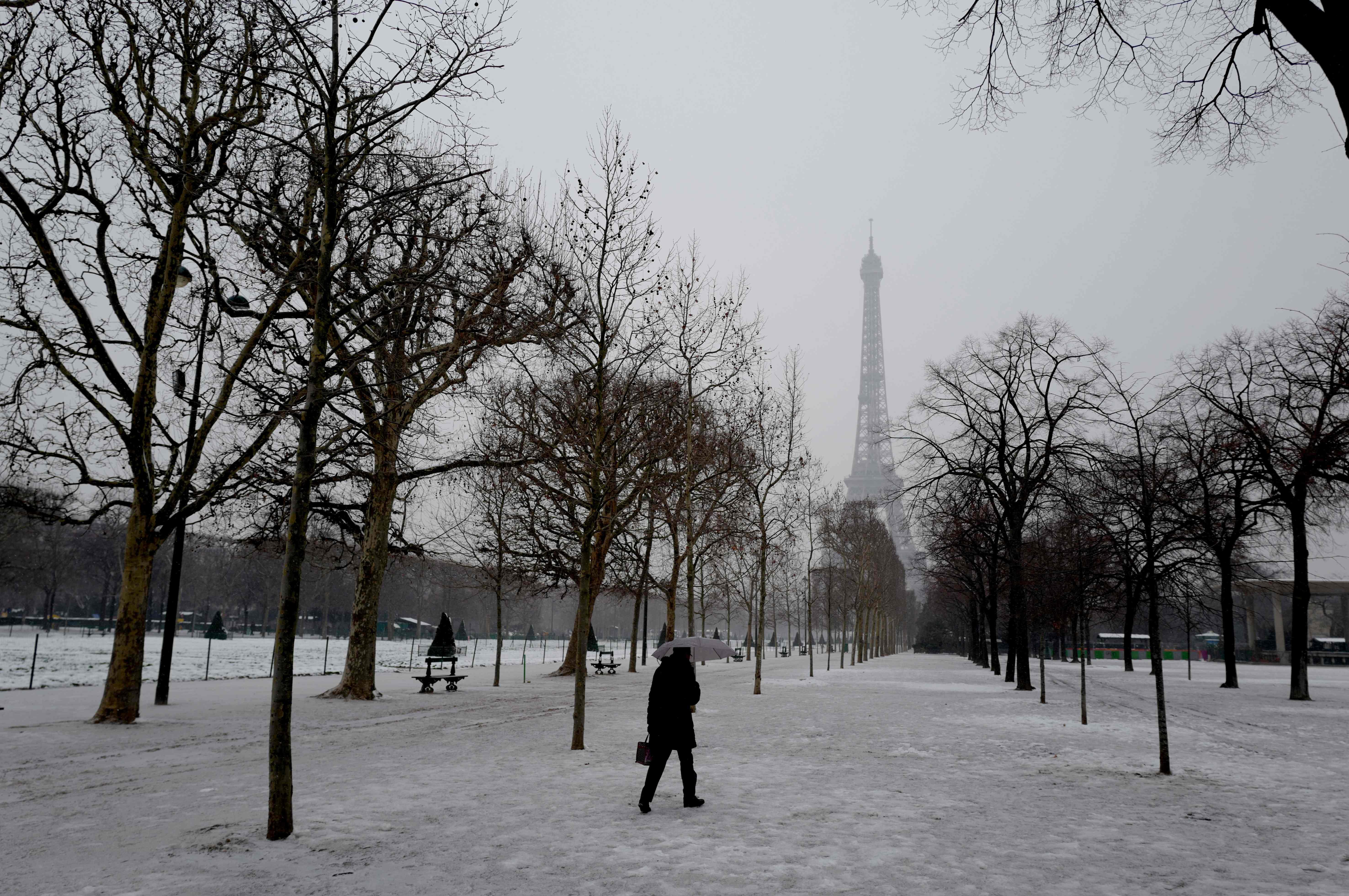 تساقط الثلوج