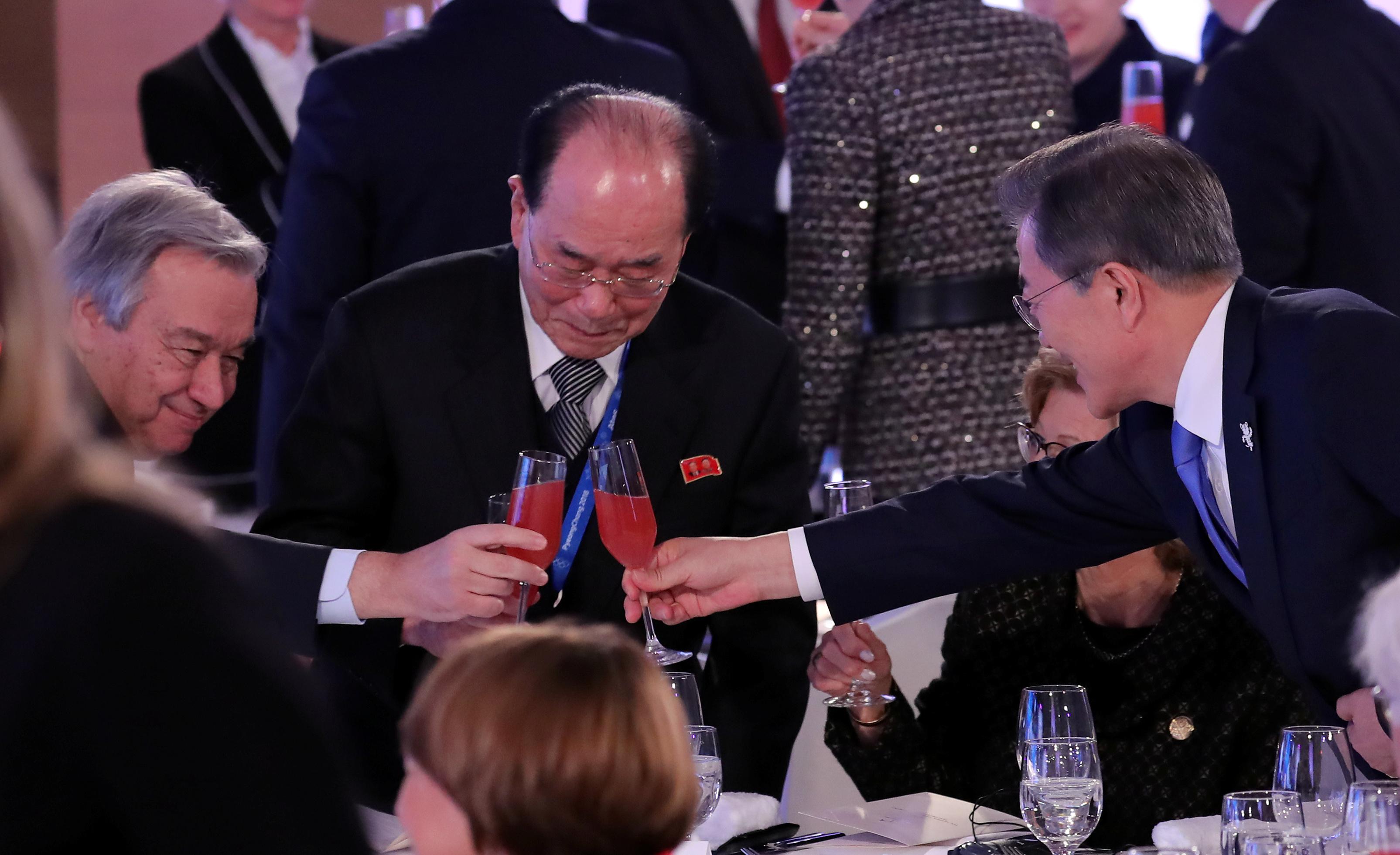 الأمين العام للأمم المتحدة جوتيريس يحيى رئيس كوريا الجنوبية