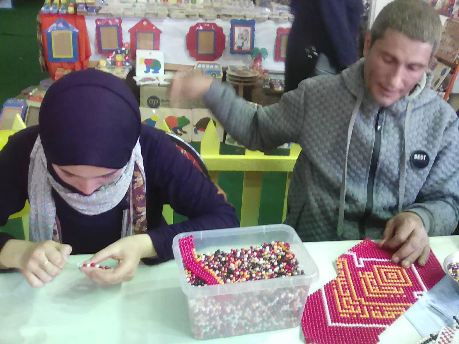 فعاليات مخيم طفل قصور الثقافة بمعرض الكتاب   (3)