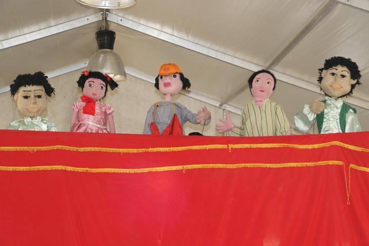 فعاليات مخيم طفل قصور الثقافة بمعرض الكتاب   (2)