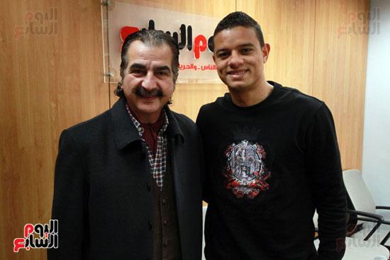 سعد سمير فى حوار لليوم السابع (1)