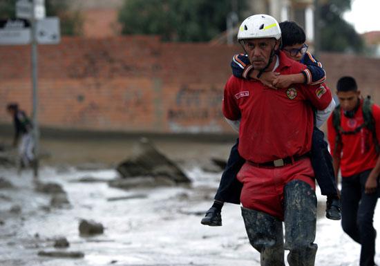 فرق الإنقاذ فى بوليفيا
