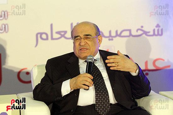 مصطفى الفقى فى ختام فعاليات اللقاء الفكرى فى معرض القاهرة الدولى للكتاب (3)
