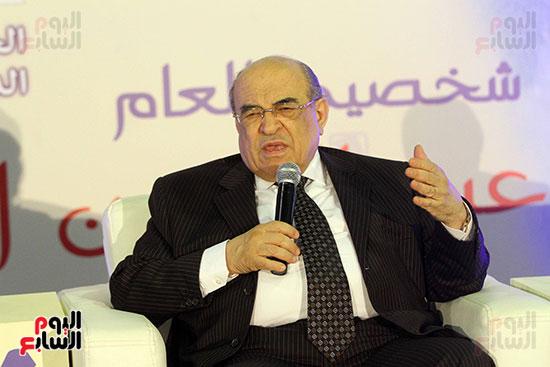 مصطفى الفقى فى ختام فعاليات اللقاء الفكرى فى معرض القاهرة الدولى للكتاب (2)