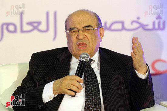 مصطفى الفقى فى ختام فعاليات اللقاء الفكرى فى معرض القاهرة الدولى للكتاب (5)