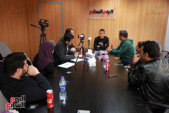 سعد سمير فى حوار لليوم السابع (14)