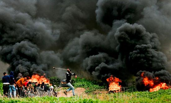 مقاومة الشبان الفلسطينيين