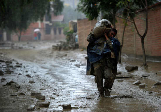 فيضانات فى بوليفيا