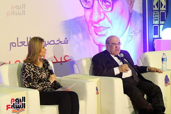 مصطفى الفقى فى ختام فعاليات اللقاء الفكرى فى معرض القاهرة الدولى للكتاب (8)