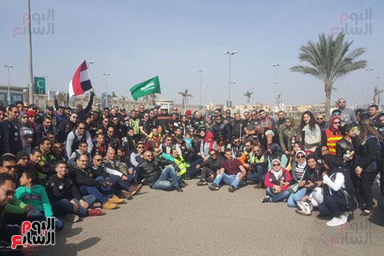الإسكندرية-تشهد-رالى-الدراجات-النارية-فى-حب-مصر-بمبادرة-سعودية-(4)