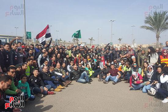 الإسكندرية-تشهد-رالى-الدراجات-النارية-فى-حب-مصر-بمبادرة-سعودية-(2)