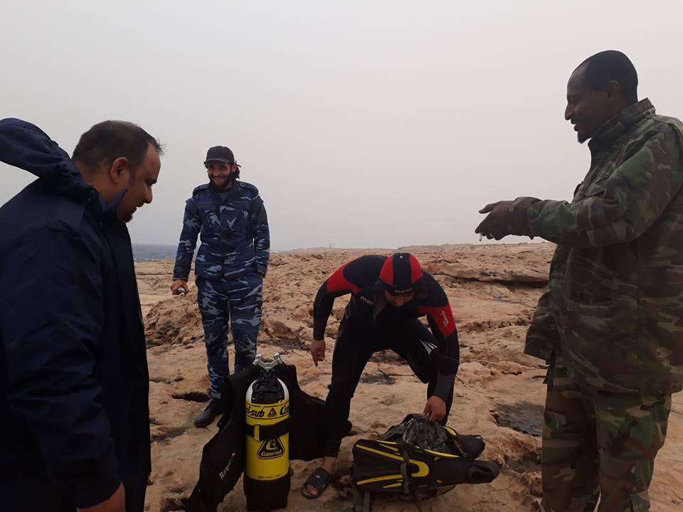 6- جانب منن القوات الليبية والضفادع البشرية