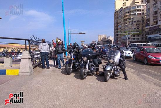 الإسكندرية-تشهد-رالى-الدراجات-النارية-فى-حب-مصر-(8)