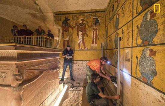 هل تكشف البعثات الأجنبية عن مفاجآت جديدة خلف جدارن مقبرة الملك الصغير؟