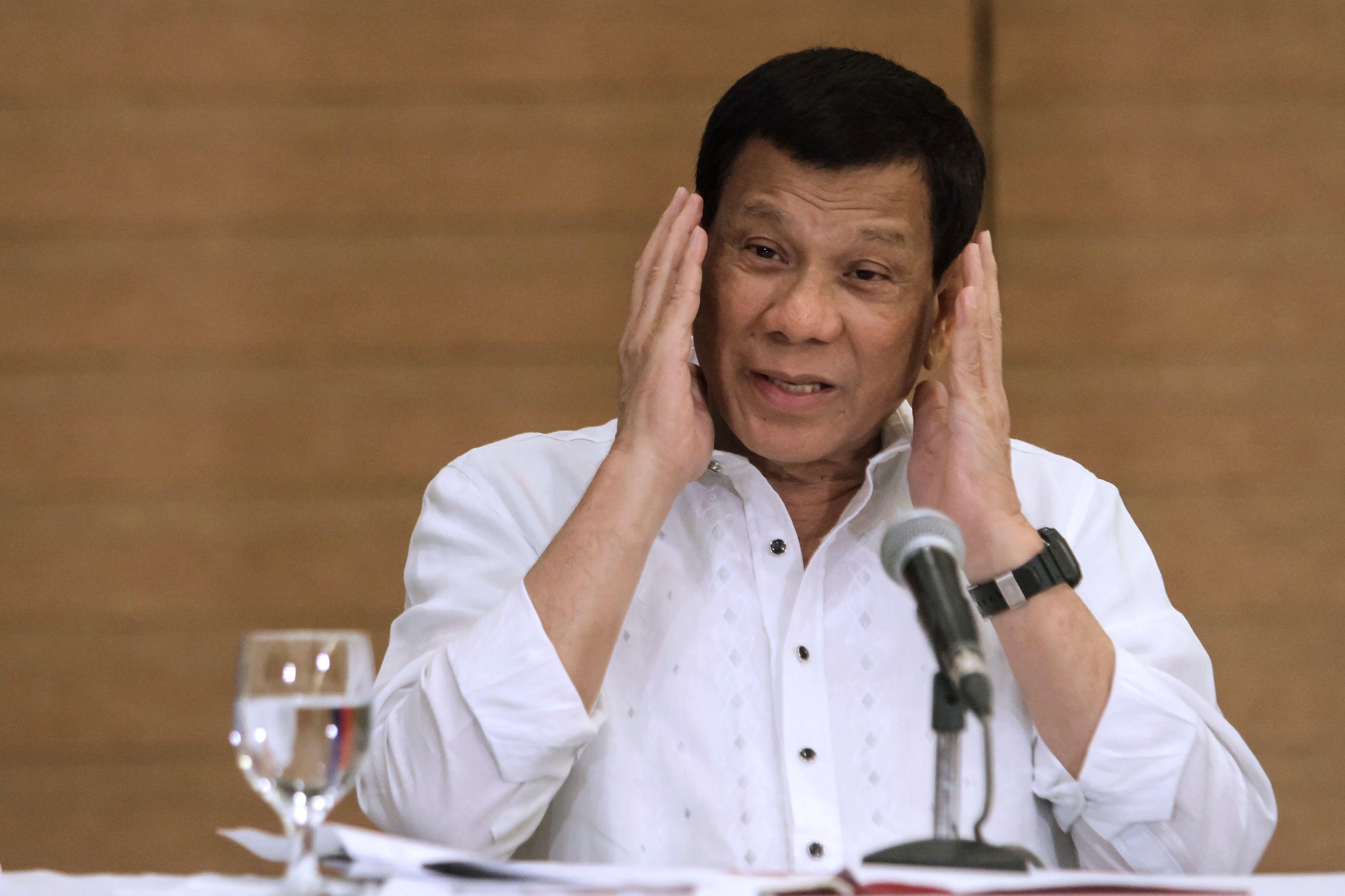 الرئيس الفلبينى