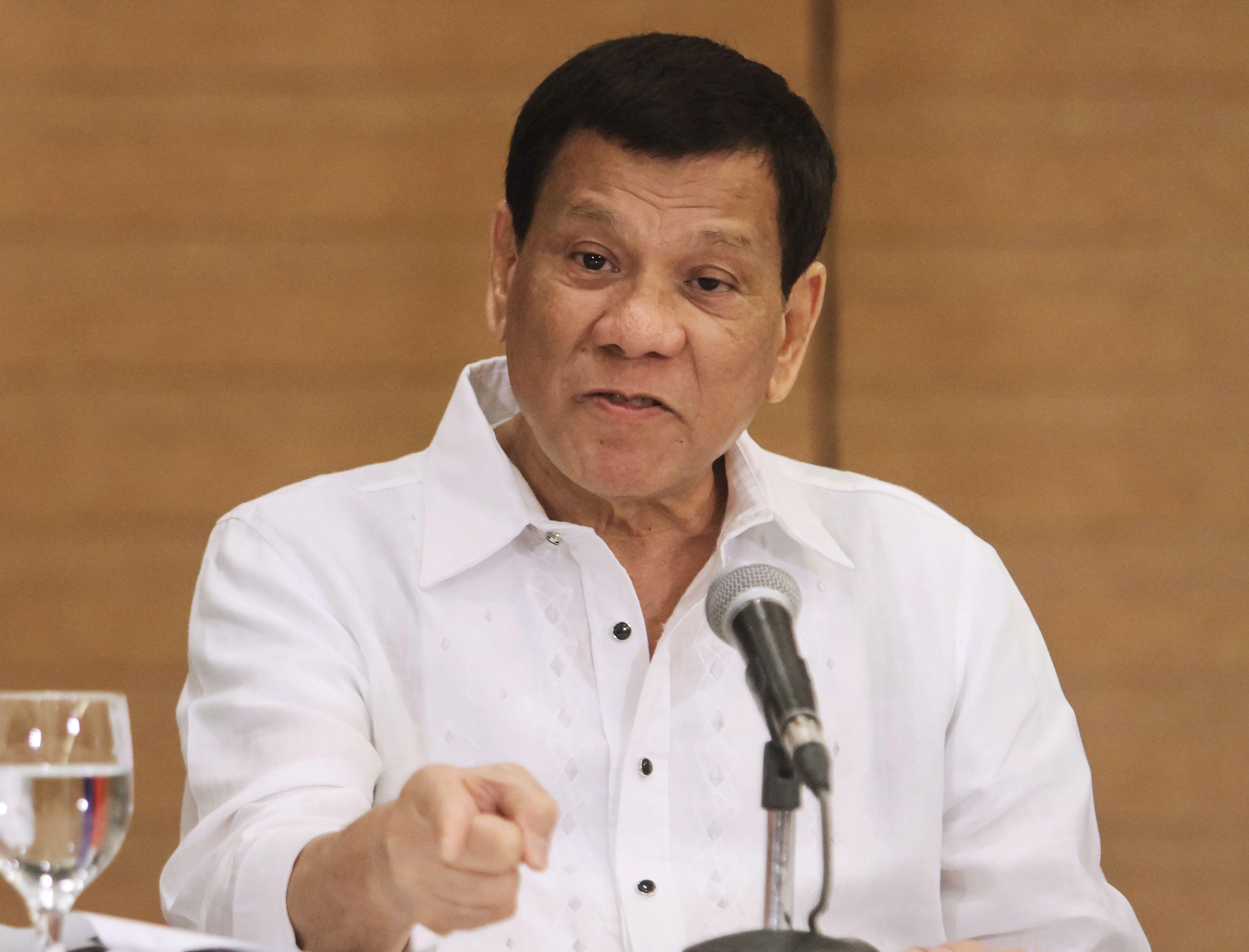 كلمة للرئيس الفلبينى