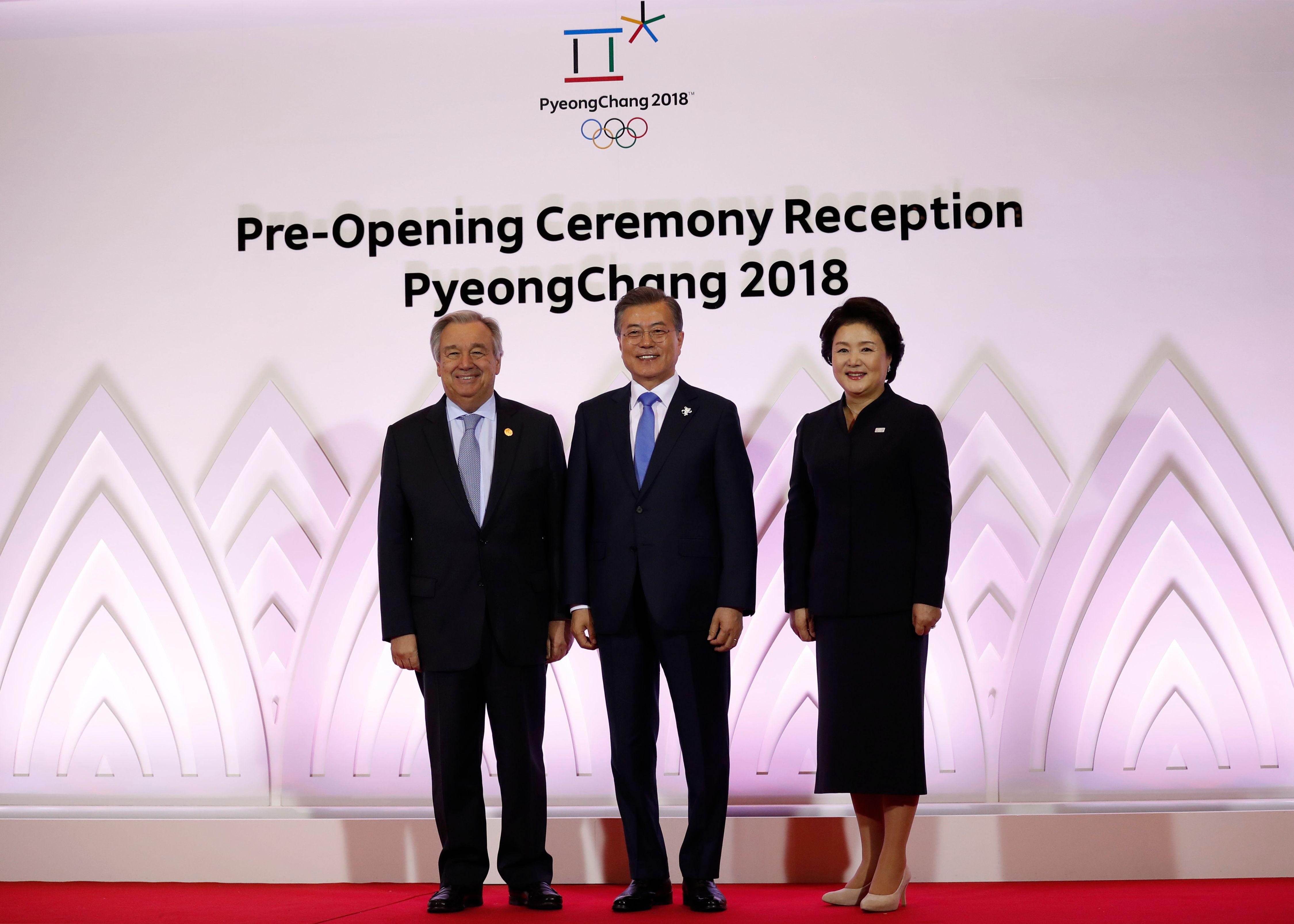 الأمين العام للأمم المتحدة فى كوريا الجنوبية