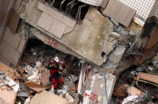 إزالة حطام الزلزال
