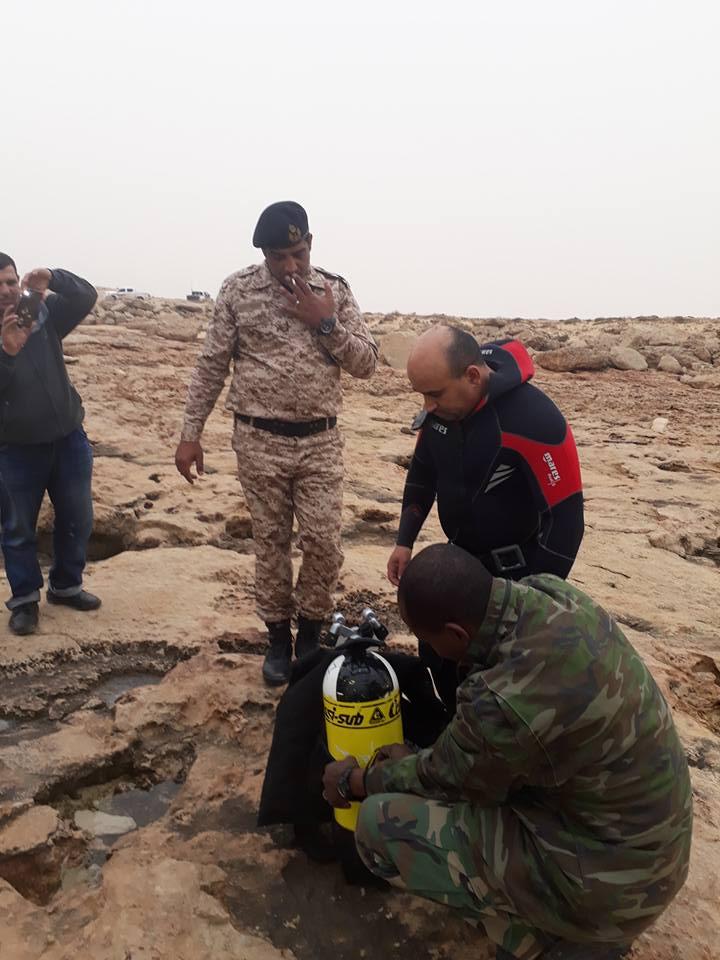 2- فرق الانقاذ والضفادع البشرية الليبية