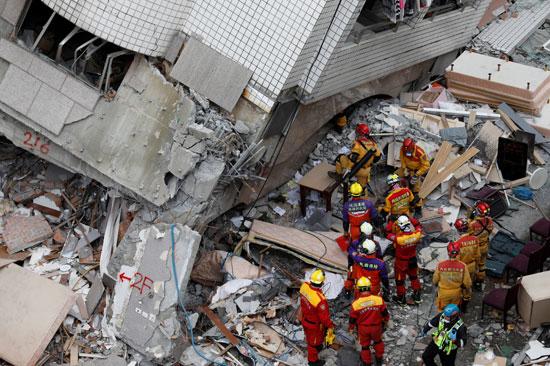 قوات الإنقاذ فى تايوان